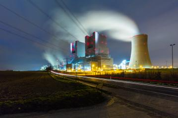 electricity powerplant at night- Stock Photo or Stock Video of rcfotostock | RC-Photo-Stock