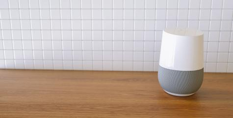 Electronic equipment smart speaker in the kitchen- Stock Photo or Stock Video of rcfotostock | RC-Photo-Stock