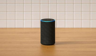 Electronic equipment smart speaker in the kitchen : Stock Photo or Stock Video Download rcfotostock photos, images and assets rcfotostock   RC-Photo-Stock.: