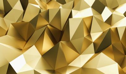 Elegant luxury golden Low-poly Background- Stock Photo or Stock Video of rcfotostock | RC-Photo-Stock