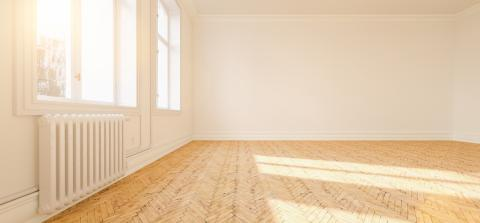 Empty bright white room in old building in berlin- Stock Photo or Stock Video of rcfotostock | RC-Photo-Stock