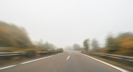 empty highway with motion blur at autumn, copyspace for your individual text.- Stock Photo or Stock Video of rcfotostock | RC-Photo-Stock