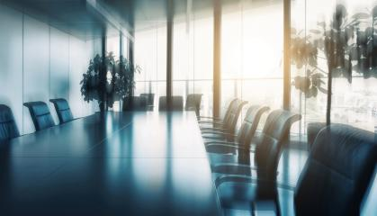 empty meeting room and conference table- Stock Photo or Stock Video of rcfotostock | RC-Photo-Stock