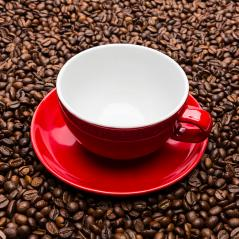 empty red coffee cup- Stock Photo or Stock Video of rcfotostock | RC-Photo-Stock