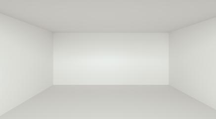 Empty Room Interior White Background - 3D Rendering- Stock Photo or Stock Video of rcfotostock | RC-Photo-Stock