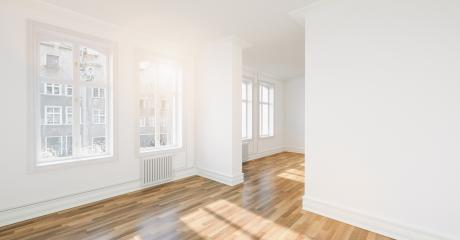 Empty through room in old house with oak parquet  : Stock Photo or Stock Video Download rcfotostock photos, images and assets rcfotostock | RC-Photo-Stock.: