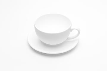 empty white coffee cup- Stock Photo or Stock Video of rcfotostock | RC-Photo-Stock