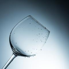 Empty wine glass with drops after wash- Stock Photo or Stock Video of rcfotostock | RC-Photo-Stock