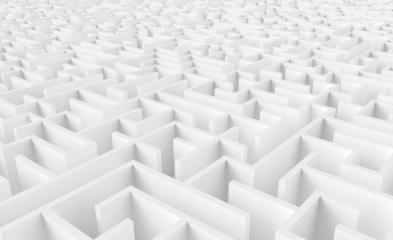 endless maze - 3d rendering- Stock Photo or Stock Video of rcfotostock | RC-Photo-Stock