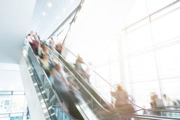 escalator crowd- Stock Photo or Stock Video of rcfotostock | RC-Photo-Stock