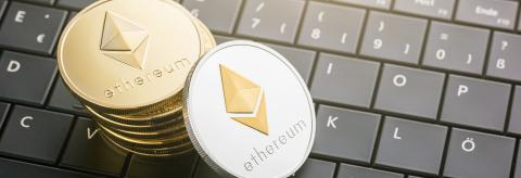 Ethereum and Ethereum classic (ETC) coins- Stock Photo or Stock Video of rcfotostock | RC-Photo-Stock