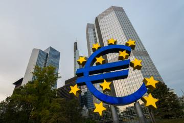 EURO sign in Frankfurt am Main at autumn- Stock Photo or Stock Video of rcfotostock | RC-Photo-Stock