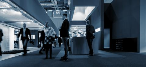exhibition Visitors at Trade Fair Stands- Stock Photo or Stock Video of rcfotostock | RC-Photo-Stock