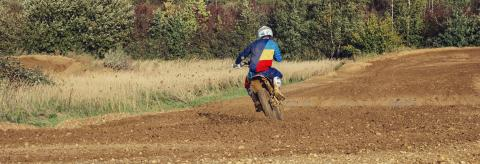 Extreme Motocross MX Rider riding on dirt trail- Stock Photo or Stock Video of rcfotostock | RC-Photo-Stock