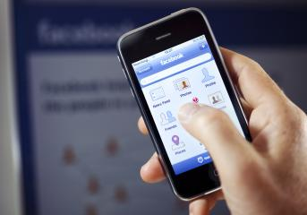 Facebook app in front of Facebook- Stock Photo or Stock Video of rcfotostock | RC-Photo-Stock