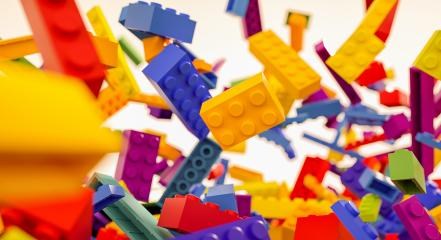 falling colorful toy bricks - concept image - 3D Rendering Illustration : Stock Photo or Stock Video Download rcfotostock photos, images and assets rcfotostock | RC-Photo-Stock.: