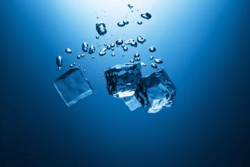 Falling ice cubes in water : Stock Photo or Stock Video Download rcfotostock photos, images and assets rcfotostock | RC-Photo-Stock.: