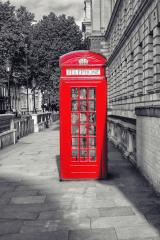 Famous English red telephone box in London, UK : Stock Photo or Stock Video Download rcfotostock photos, images and assets rcfotostock | RC-Photo-Stock.: