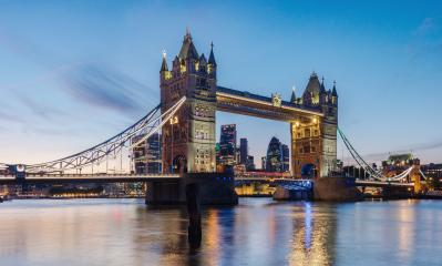 Famous Tower Bridge at sunset London, UK- Stock Photo or Stock Video of rcfotostock | RC-Photo-Stock
