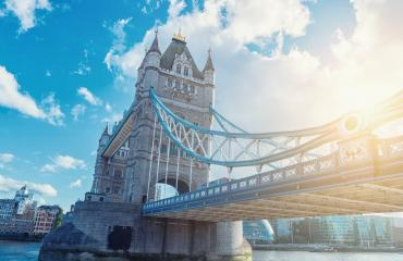 Famous Tower Bridge in the evening, London, England Tower Bridge, London, UK- Stock Photo or Stock Video of rcfotostock | RC-Photo-Stock
