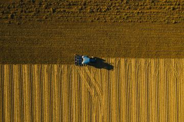 farmer seeding, sowing crops at field. Industrial background on agricultural theme. Use drones to inspect of your business. - Stock Photo or Stock Video of rcfotostock | RC-Photo-Stock