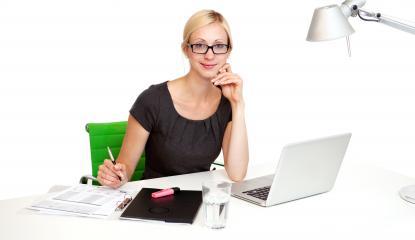 Female executive smiling- Stock Photo or Stock Video of rcfotostock   RC-Photo-Stock
