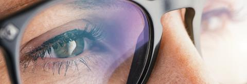 Female eye with glasses close-up : Stock Photo or Stock Video Download rcfotostock photos, images and assets rcfotostock | RC-Photo-Stock.: