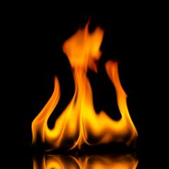 fire flames with reflection on black background : Stock Photo or Stock Video Download rcfotostock photos, images and assets rcfotostock | RC-Photo-Stock.: