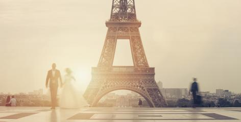 First wedding couple enjoying Honeymoon in Paris, France. : Stock Photo or Stock Video Download rcfotostock photos, images and assets rcfotostock | RC-Photo-Stock.: