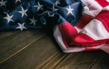 Flag of USA on dark wood background- Stock Photo or Stock Video of rcfotostock | RC-Photo-Stock