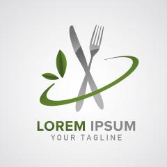 Fork Plate Knife Glass for Dining Restaurant logo design. Editable Design. Corporate design. Vector illustration. Eps 10 vector file.- Stock Photo or Stock Video of rcfotostock | RC-Photo-Stock