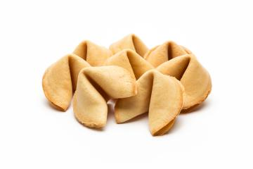 fortune cookies on white  : Stock Photo or Stock Video Download rcfotostock photos, images and assets rcfotostock   RC-Photo-Stock.: