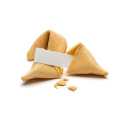 fortune cookies with crumbs and note  : Stock Photo or Stock Video Download rcfotostock photos, images and assets rcfotostock   RC-Photo-Stock.: