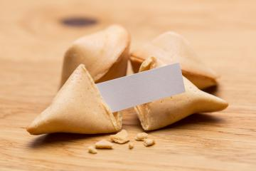fortune cookies with message note- Stock Photo or Stock Video of rcfotostock | RC-Photo-Stock