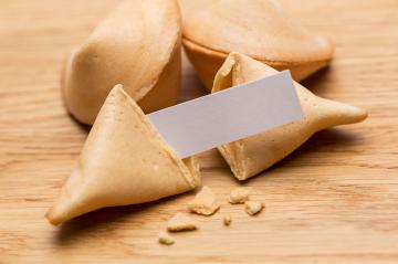 fortune cookies with note- Stock Photo or Stock Video of rcfotostock | RC-Photo-Stock