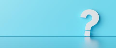 Fragezeichen vor blauem Hintergrund. Frage, Zweifel, fragendes Konzept. : Stock Photo or Stock Video Download rcfotostock photos, images and assets rcfotostock   RC-Photo-Stock.: