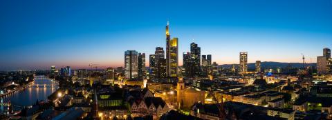 Frankfurt am Main at night, Germany- Stock Photo or Stock Video of rcfotostock | RC-Photo-Stock