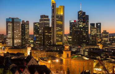 Frankfurt am Main at night Germany- Stock Photo or Stock Video of rcfotostock | RC-Photo-Stock