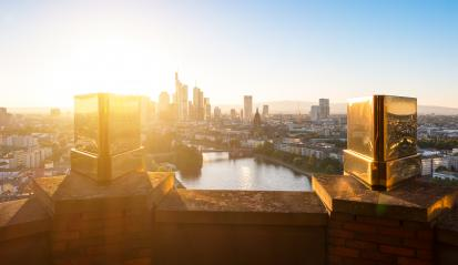 Frankfurt am Main at summer- Stock Photo or Stock Video of rcfotostock | RC-Photo-Stock