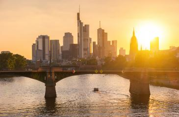 Frankfurt am Main at sunset, Germany : Stock Photo or Stock Video Download rcfotostock photos, images and assets rcfotostock | RC-Photo-Stock.: