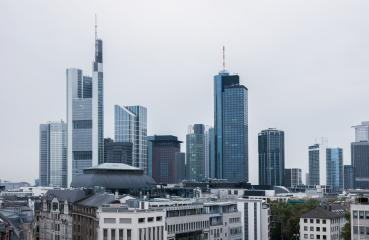 frankfurt am main financial district skyline- Stock Photo or Stock Video of rcfotostock | RC-Photo-Stock