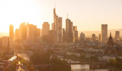 Frankfurt am Main late summer evening- Stock Photo or Stock Video of rcfotostock | RC-Photo-Stock