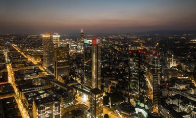 Frankfurt am Main skyline at night, germany- Stock Photo or Stock Video of rcfotostock | RC-Photo-Stock