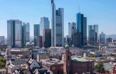 Frankfurt am Main Skyscaper sykline- Stock Photo or Stock Video of rcfotostock | RC-Photo-Stock
