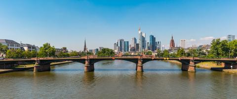 Frankfurt am Main summer view, germany- Stock Photo or Stock Video of rcfotostock | RC-Photo-Stock