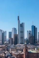 Frankfurt am Main sykline Germany- Stock Photo or Stock Video of rcfotostock | RC-Photo-Stock
