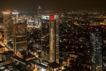 Frankfurt at Night- Stock Photo or Stock Video of rcfotostock | RC-Photo-Stock
