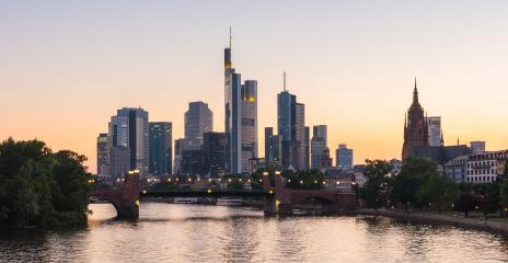 Frankfurt at sunset, Germany- Stock Photo or Stock Video of rcfotostock   RC-Photo-Stock