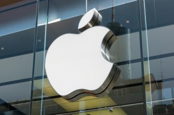 FRANKFURT, GERMANY MARCH, 2017: Apple logo on a Apple store. Apple is the multinational technology company headquartered in Cupertino, California and sells consumer electronics products.- Stock Photo or Stock Video of rcfotostock | RC-Photo-Stock