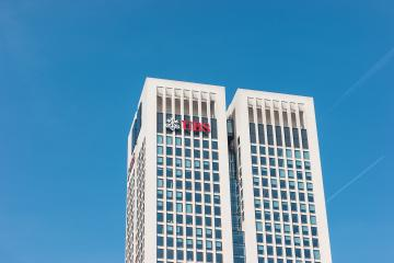 FRANKFURT, GERMANY MARCH, 2017: The UBS bank building in the city of Frankfurt. UBS AG is a Swiss global financial services company.- Stock Photo or Stock Video of rcfotostock | RC-Photo-Stock